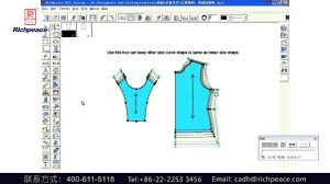 pattern and grading software richpeace pattern software keep shape grading youtube