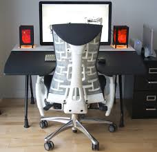 Ergonomic Computer Desk Setup Ergonomic Desk Chair Back Painherpowerhustle Com Herpowerhustle Com