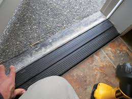 Interior Door Threshold Exterior Door Inspection Will These Doors Leak The Ashi