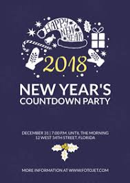 happy new years posters new year posters make happy new year posters online fotojet