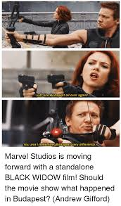 Black Widow Meme - bbcireneadler do you think after this happened that hawkeye went