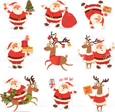 rudolph the red nosed reindeer clip art vector images