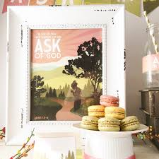 Lds Home Decor by 2017 Lds Yw New Beginnings Ask Of God Ask In Faith 2017 Lds
