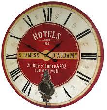 horloge murale cuisine horloge murale de salon en bois pendule à balancier de cuisine