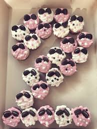 at home diy minnie mouse cupcakes 2nd birthday party my