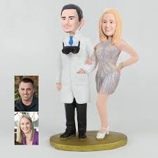cake toppers bobblehead custom doctor bobbleheads wedding cake topper gifts ewft070 as low