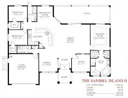 Casa Bella Floor Plan The Sanibel Island Ii Abodesense