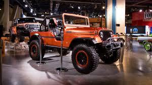 sema jeep 2016 sema 2016 jeep dévoile un concept inspiré du cj