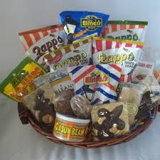 snack basket snacks galore cajun gift baskets new orleans gift baskets