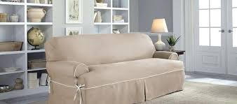 couch slipcovers sofa t shaped cushions sectional ikea cheap
