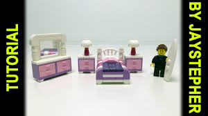 tutorial lego ladies bedroom set youtube