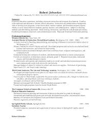 Examples Of Education Resumes by Examples Of Teacher Resumes Resume For Your Job Application