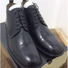 mens dress boots leather lace up veeko black