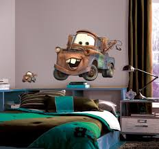 disney cars wall decals roselawnlutheran giant mater wall decal from cars view larger