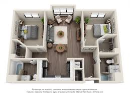 Two Bed Two Bath Apartment 2 Bed 2 Bath Apartment In Los Angeles Ca Wilshire Vermont Station