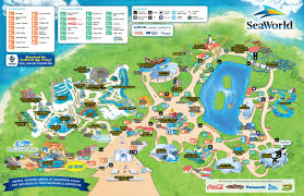 I Ride Orlando Map by San Antonio Seaworld Map
