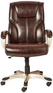 Executive Chairs Manufacturers In Bangalore Amazonbasics High Back Executive Chair Brown Amazon In Home