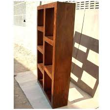 Cube Bookcase Wood Bookcase Solid Wood Cube Storage Unit Solid Wooden Cube Shelves