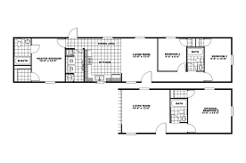 Liberty Mobile Homes Floor Plans by Company Sp 14x70 66