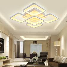 remote control led ceiling light luminarias living room lights