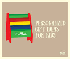 personalized gift ideas for kids gift and toy