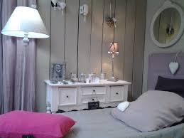 chambre lilas et gris chambre gris déco maison meuble patiné
