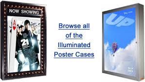 lighted movie poster frame lighted movie poster case and movie poster frames buy lightbox