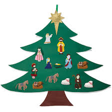 christmas tree wall nativity wmu store