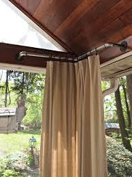 Pergola With Curtains Impressive Curtains For Pergola Decor With Patio Pergolas This