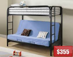 Wooden Futon Bunk Bed Plans by Metal Futon Bunk Bed Plans Design Ideas