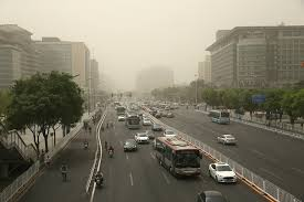 dusty china china sandstorms dusty days in the capital the standard