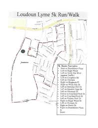 Lyme Disease Map Course Map U2013 Loudoun Lyme 5k Charity Event