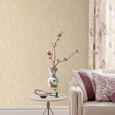 modern livingroom with solid color wallpaper white pvc wallpaper