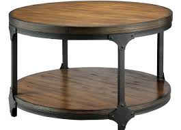 coffee tables large round leather ottoman coffee table awesome