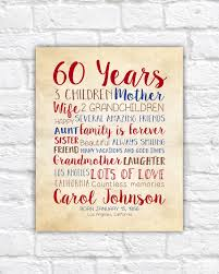 60 year birthday ideas birthday gift for 60th birthday 60 years gift for