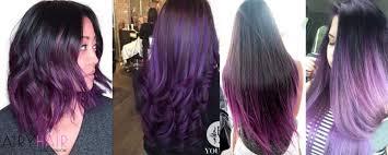 black hairstyles purple top 10 black ombré hair extension hairstyles