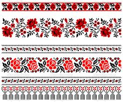 ukrainian ornaments картинки по запросу орнаменты украины вышивка крестом