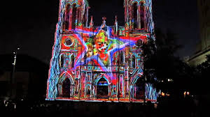 san fernando cathedral light show san fernando cathedral part 2 youtube