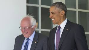 bernie sanders meets with president obama at white house