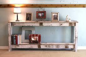 Sofa Back Table by Rustic Sofa Table In Farmhouse White Inside Farmhouse Sofa Table