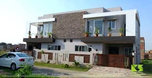 exterior view front view of modern houses exterior view 5 housing 5 sq m sq ft