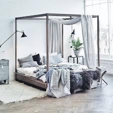 king four poster bed frame best 25 four poster beds ideas on