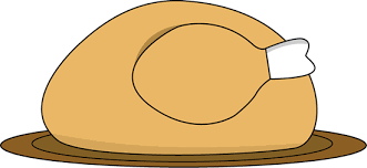 thanksgiving cooked turkey clipart clipartxtras