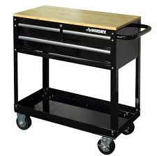 black friday tool chest home depot husky 3 drawer mechanics mobile rolling utility tool cart cabinet