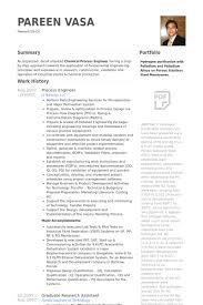 process engineer resume samples visualcv resume samples database