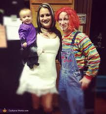 Chucky Costume Halloween Bride Chucky Chucky Seed Chuck Family Costume Ideas