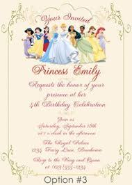 disney princesses invitation princess by perfectpixelfactory