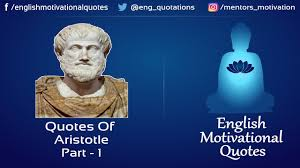learning quotes by aristotle english motivational quotes aristotle part 1 youtube