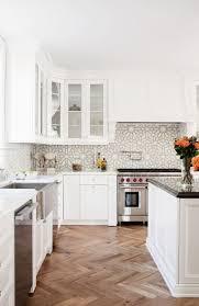 kitchen elegant white subway tile kitchen new basement ideas