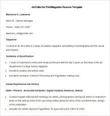 Sample Hobbies For Resume by Media Resume Template U2013 31 Free Samples Examples Format